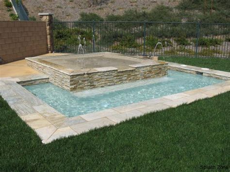 backyard splash pool i really like the idea of the smaller pool but with the