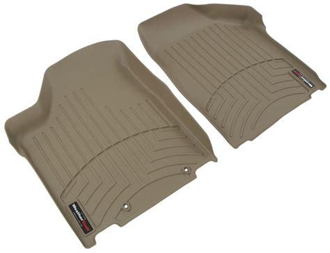 weathertech front auto floor mats tan weathertech floor mats wt450361