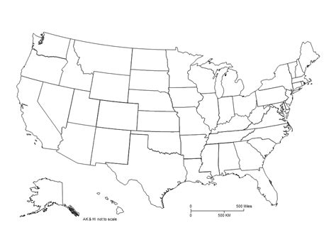map of usa no labels usa powerpoint map clipped with no labels maps for