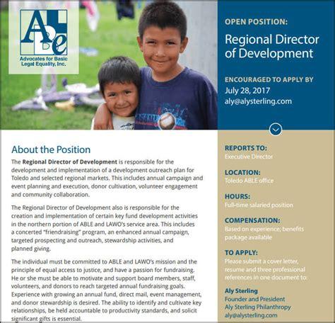 director of development description how to write a development director description 4 key