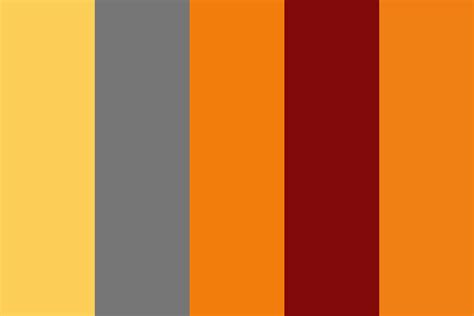 a shade of vire 2 a shade of blood color palette