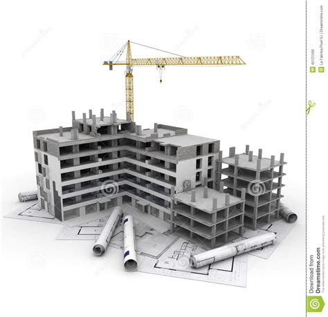 how to build a canstruction project construction project in progress stock illustration