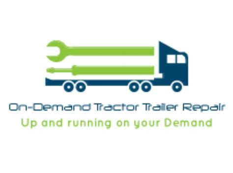 on demand mobile on demand mobile truck repairs logo yelp