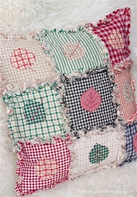 Rag Quilt Pillows by Rag Quilt