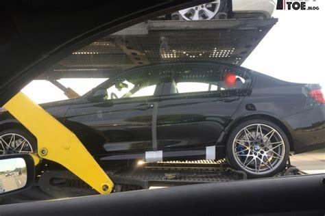 BMW M3 CRT F80: Testwagen mit M4 GTS Felgen erwischt