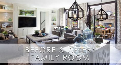 what is a family room htons inspired luxury family room before and after san diego interior designers