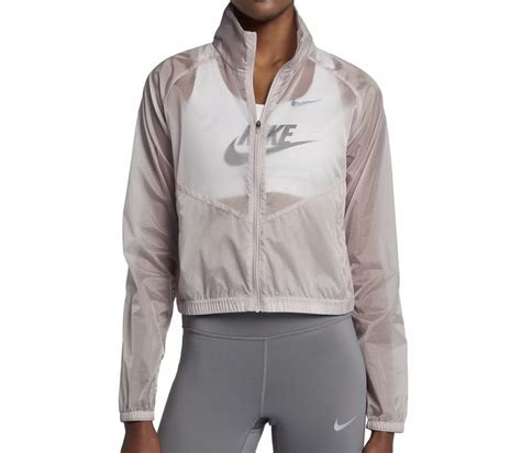 Jacket Nike Rip nike running s jacket brown grey buy it at the keller sports shop