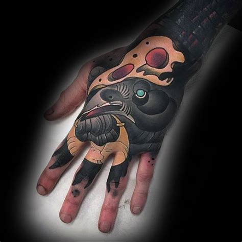 unique tattoo on hand 40 unique hand tattoos for men manly ink design ideas