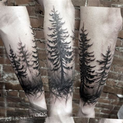 cypress tree tattoo designs 25 trending tree arm ideas on tree