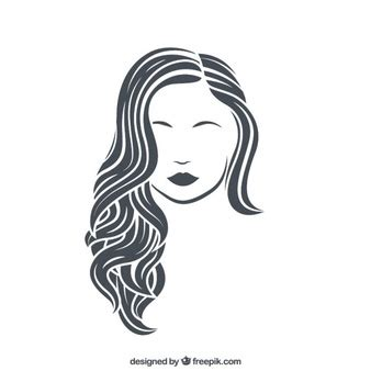 long hair free vector art 1906 free downloads hair vectors photos and psd files free download