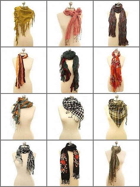 with stuff use scarves to accessorize an