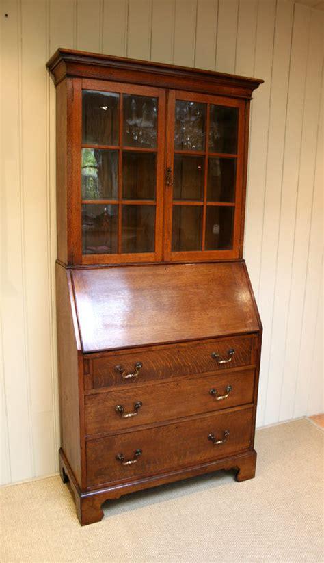Antique Bureau Bookcase oak bureau bookcase antiques atlas