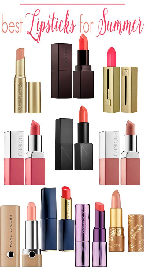 10 Best Lipsticks For This Summer by Top 10 Summer Lipsticks Beautiful Makeup Search