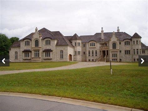 2 Car Garage Square Footage by 23 000 Square Foot Unfinished Mega Mansion In Oneida Wi