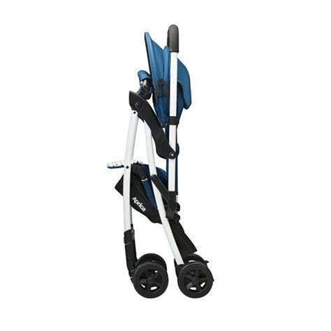 Aprica Stroller Magical Air Blue Aprica Magical Air 3 3 High Seat Stroller Yoghurt Blue