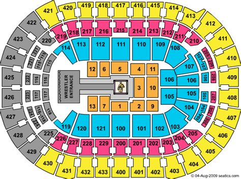 verizon center floor plan verizon center seating chart printable pictures to pin on