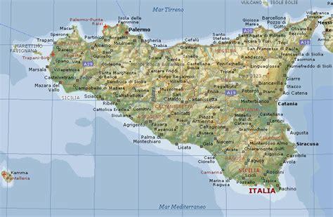 fighe si bagnano cartina geografica della sicilia stradario mappa