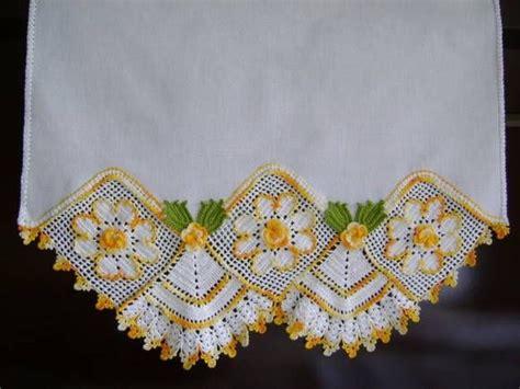 bicos de croch elo7 pano de copa barrado em croch 234 12 artes em croch 234 e