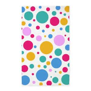 Polka Dot Area Rug Colorful Polka Dots 3 X5 Area Rug By Creativejoy