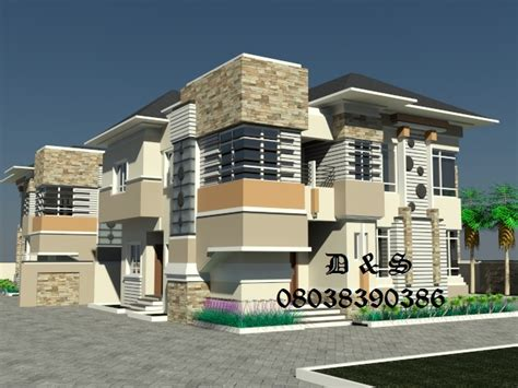 Luxury Bungalow Floor Plans new dimension to nigerian architecture construction of 4