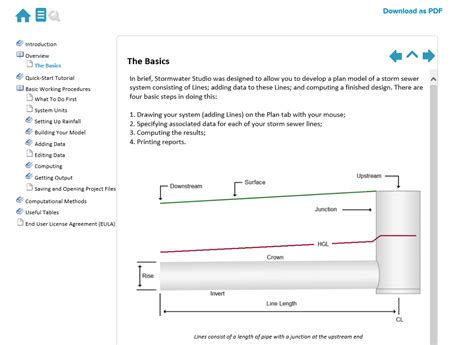 design criteria for sewers and watermains storm sewer design software stormwater studio