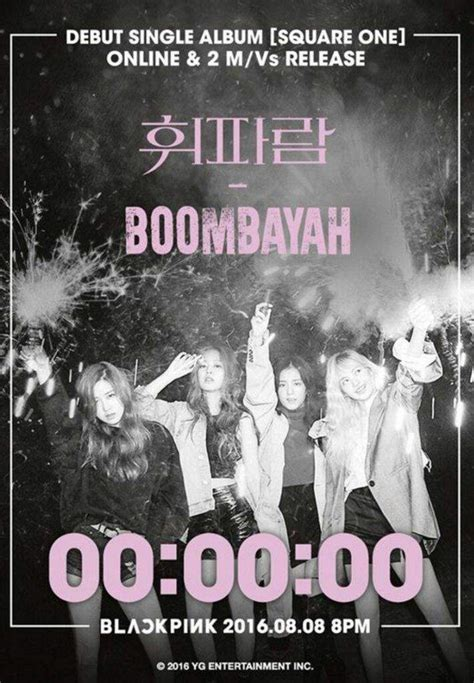 blackpink square one album blackpink released teaser end for quot boombayah quot y m 225 s k