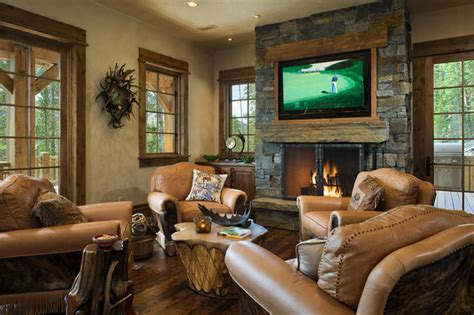 Home Plans Craftsman by Hearth Room Traditional Family Room Other Metro By