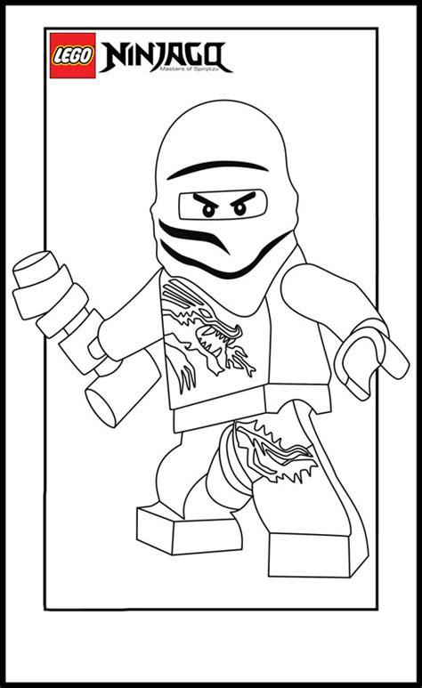 Coloriage Ninjago Master dessin gratuit à imprimer