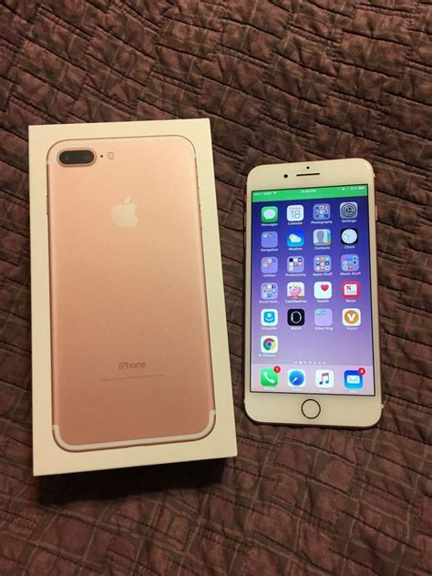 Iphone 7 Plus 256gb Oem Fullset New Ori Bnib apple iphone 7 plus 256gb unlocked secondhand my