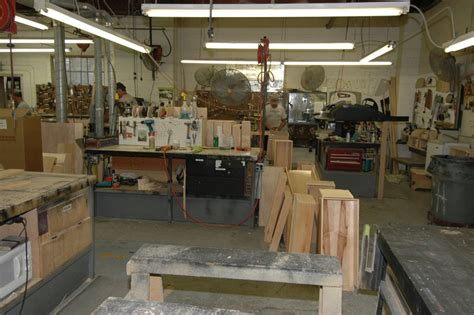 Cabinet Shop by Newell Coach Plant