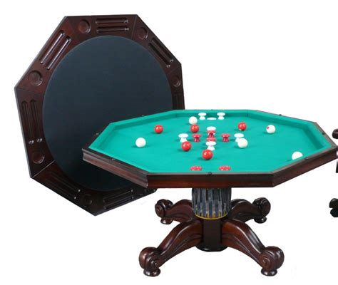 berner billiards 3 in 1 table octagon 54 quot with bumper