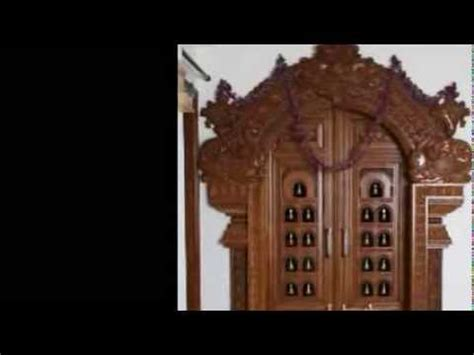Kerala Home Design Tips by Pooja Carved Wooden Door Designs Youtube