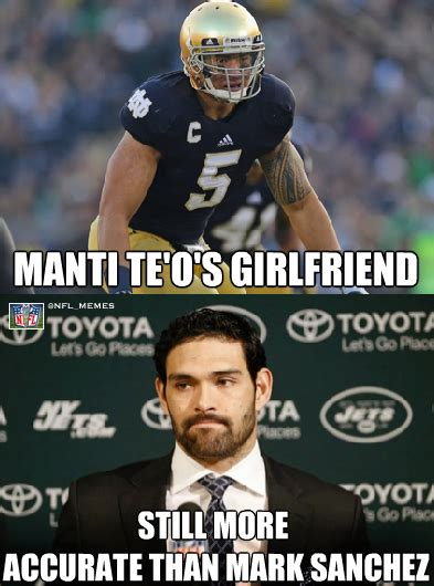 College Football Memes - manti teo meme dead girlfriend hoax