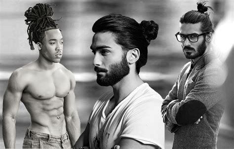 top knot black male how to trendy sensual male top knots hairstyles haircuts and