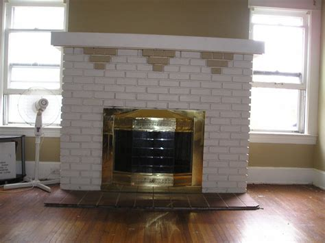 Best Way To Use A Fireplace best way to paint brick fireplace fireplace designs