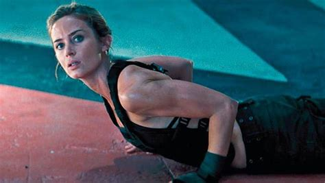 Blunt Runs Some Poor Guys Foot With His Car by How Emily Blunt Became A Physical Solider For Edge