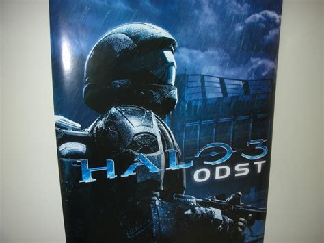 Halo 4 Poster Kayu 30x22 halo 3 odst poster by soap 008 on deviantart