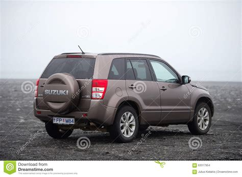 Suzuki Corporation Japan Suzuki Grand Vitara Suv Car Editorial Stock Image Image