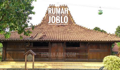 Nilai2 Arsitektur Rumah Tradisional Jawa rumah adat jawa tengah rumah joglo