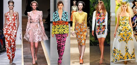 Summer 08 Trends Floral The Catwalk Looks by Valentino Summer 2012 Flower The Luxe Report