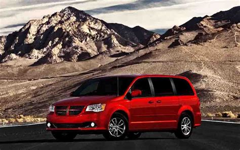 2017 dodge minivan 2018 dodge grand caravan release date redesign and specs