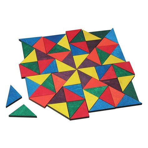 Wood Pattern Blocks Canada | puzzles mosaic tiles