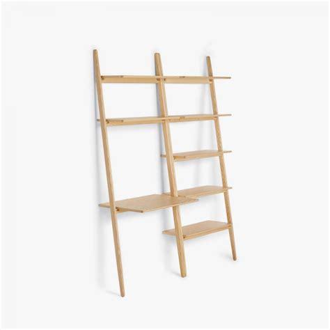 ladder desk and shelves folk ladder desk shelving by norm architects for design