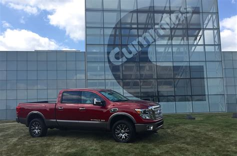 nissan titan turbo 2016 nissan titan xd new information on the 5 0l v8