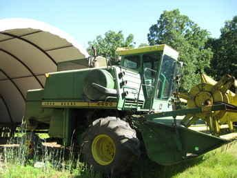 Used Farm Tractors For Sale 4400 Combine 2009 06 11