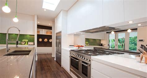 caesarstone splashback cooktop kensington house by b2 construction pty ltd and