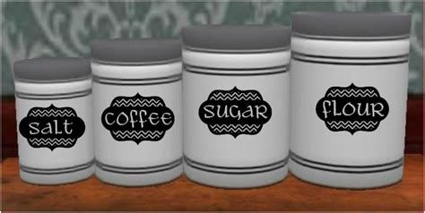 chevron kitchen canister labels on luulla