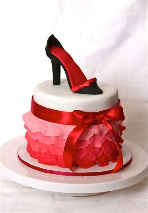 cakes shoes bakerz petal and shoe cake