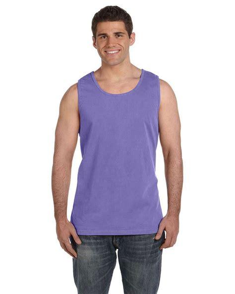 comfort colors violet comfort colors c9360 ringspun garment dyed tank