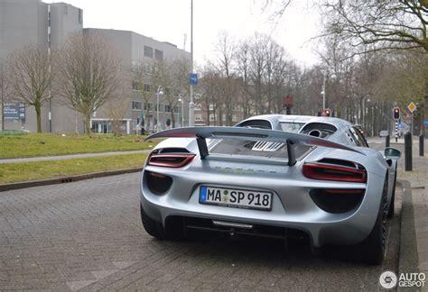 Xavier Naidoo Auto by Porsche 918 Spyder 20 April 2015 Autogespot